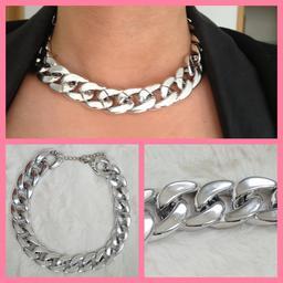Chaintastic - srebrna - blingbling