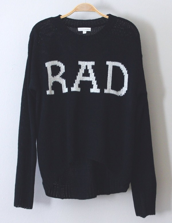 sweater blue sweater navy sweater rad