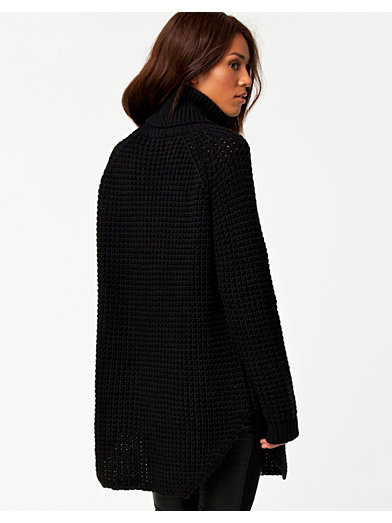 Grand Sweater - Hope - Black - Jumpers & Cardigans - Clothing - Women - Nelly.com Uk