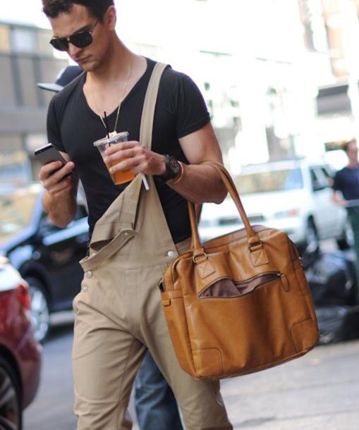 overalls,beige,menswear,streetstyle