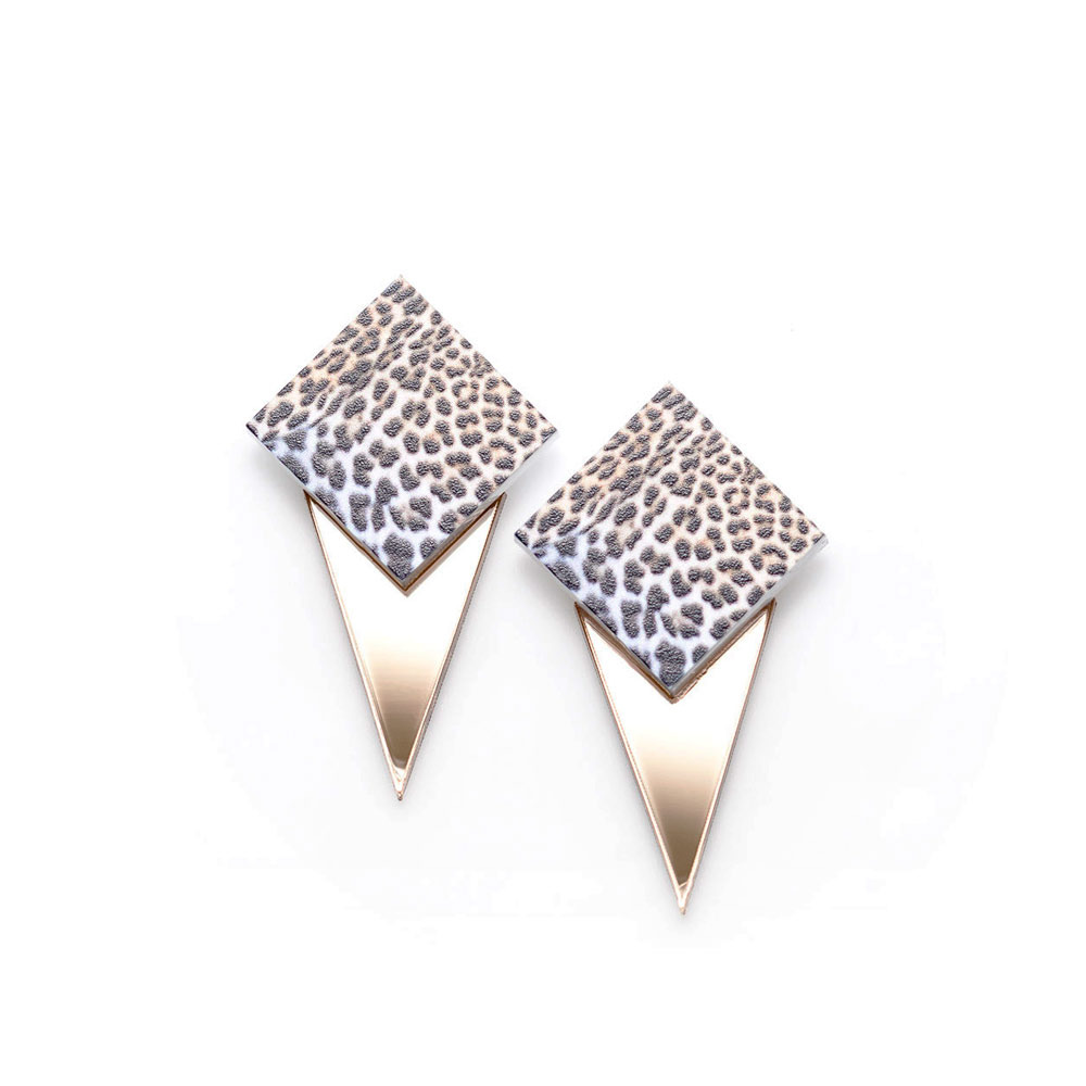 Suzywan DELUXE — LEOPARD Earrings - Gold