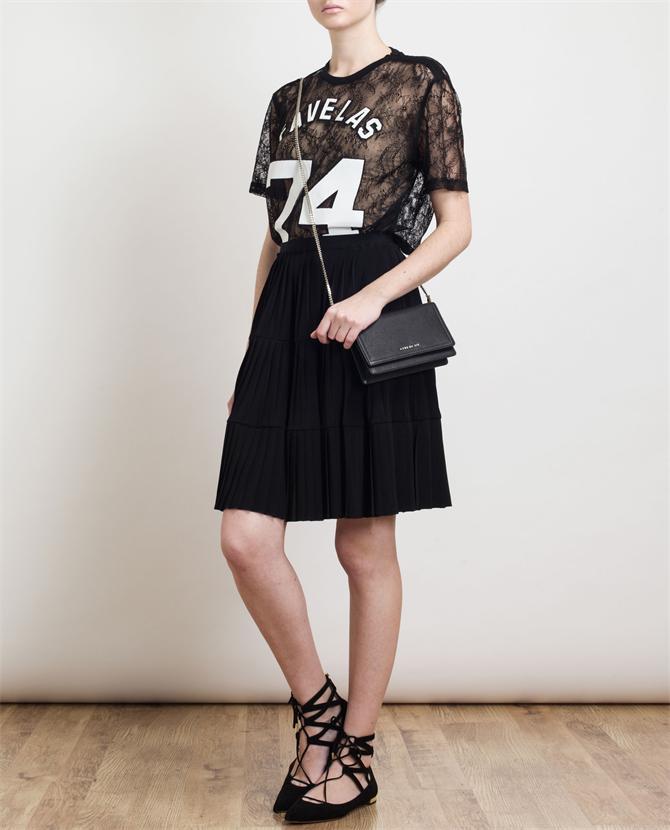 GIVENCHY   Favelas Motif Lace T-Shirt   Browns fashion & designer clothes & clothing