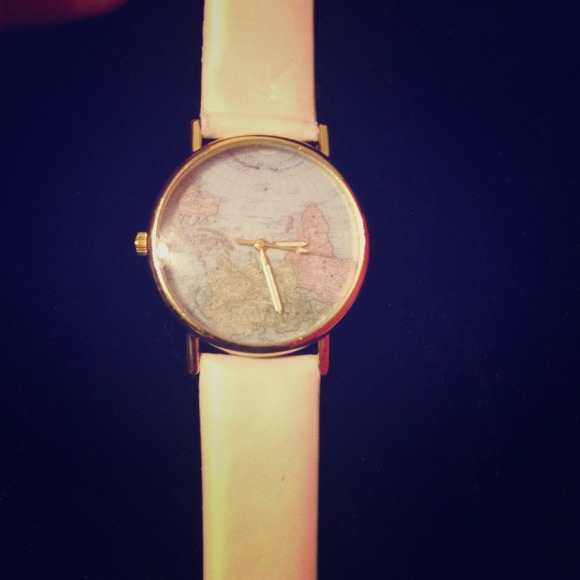 63% off  Accessories - Map watch! from Kendall's closet on Poshmark