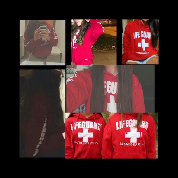 sweater lifeguard sweatshirt