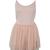 All-match Bottom Pink Dress [NCSKE0156] - $28.99 :