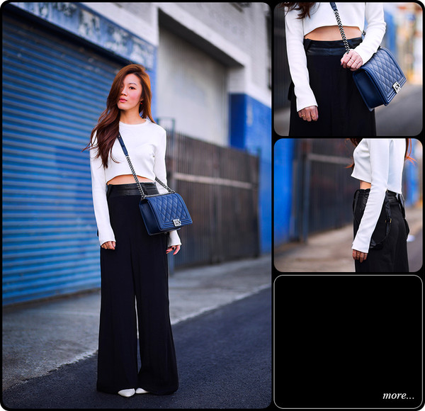 tsangtastic sweater pants shoes jewels bag
