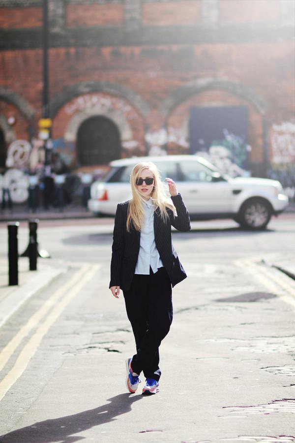 framboise fashion jacket shirt pants shoes sunglasses