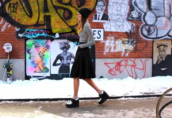 we wore what t-shirt skirt