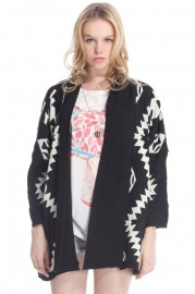 ROMWE   Rhombus Cable Knit White Jumper, The Latest Street Fashion