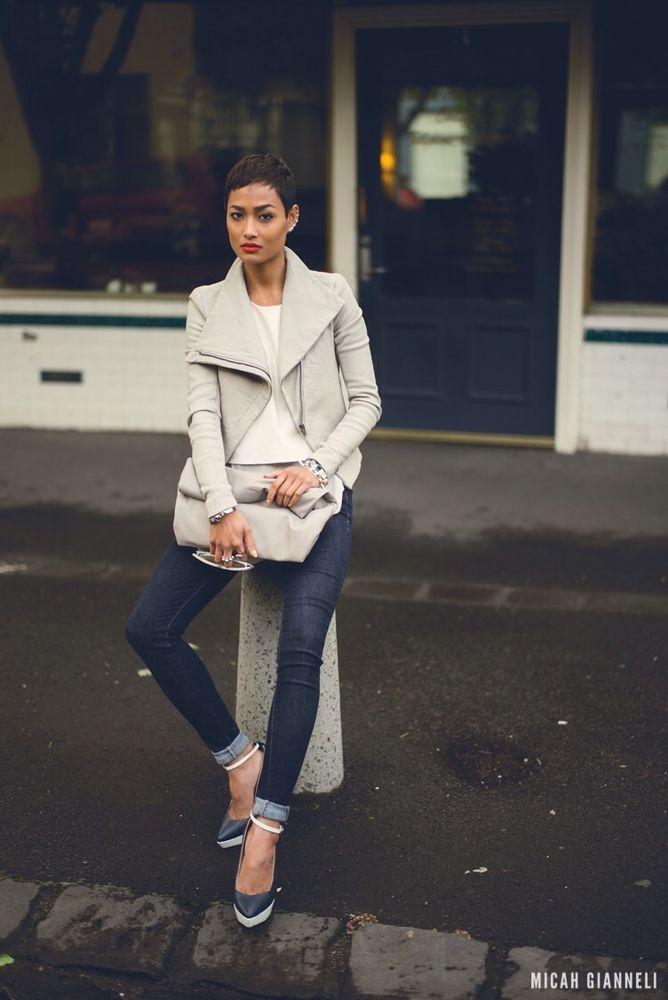 Kookai Defoe Leather Jacket | eBay