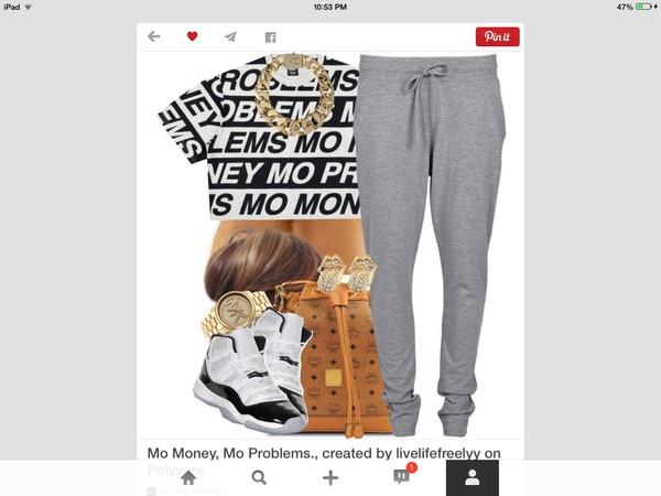 t-shirt jumpsuit shoes pants
