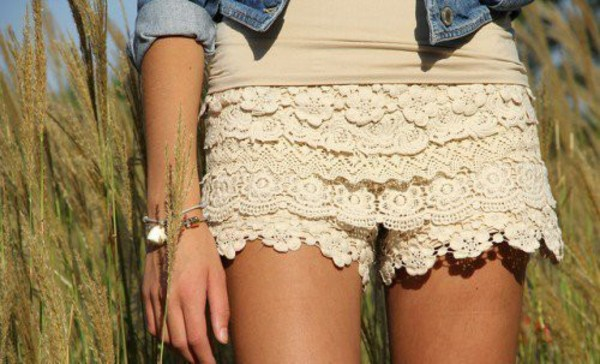 shorts cute lace white lace shorts white lace shorts