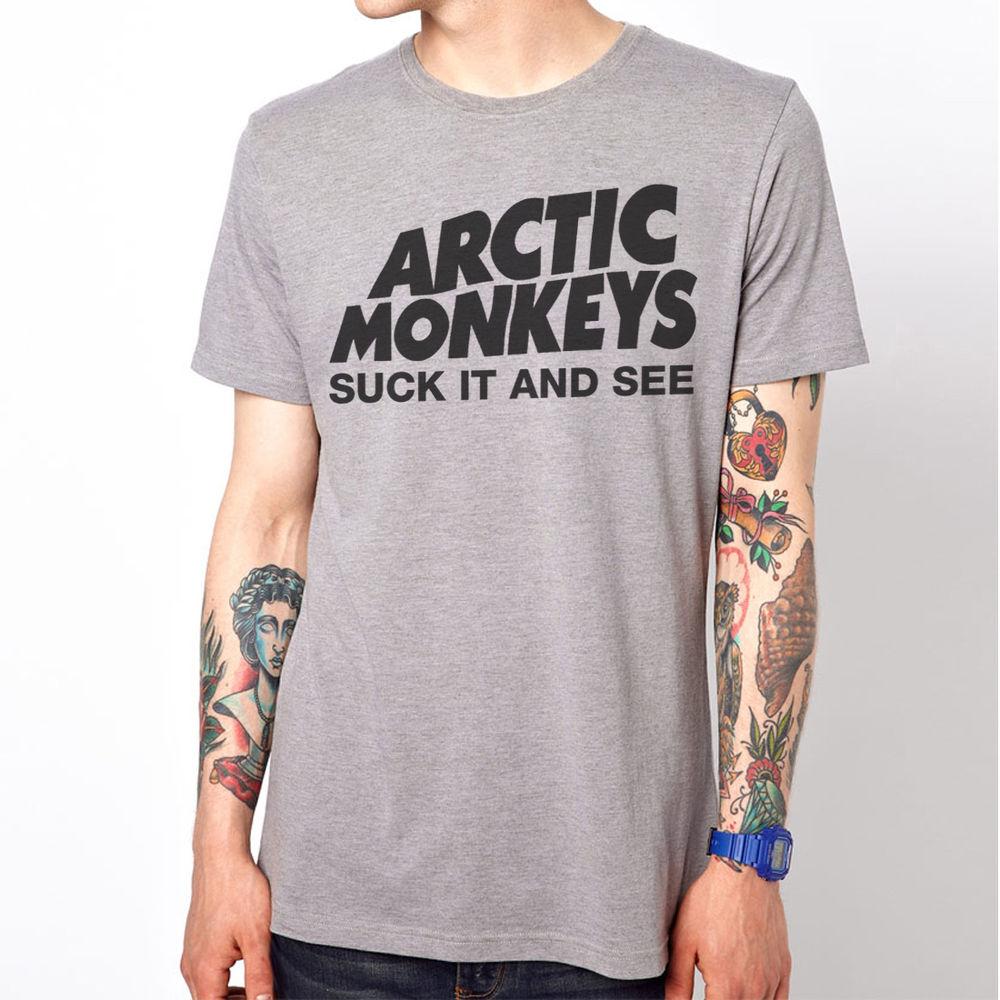 Arctic Monkeys See Suck Emo Rock Music Band T Shirt | eBay