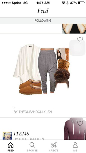 pants shoes sweater