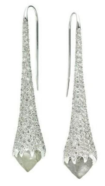 jewels diamonds earrings rhinestones