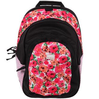 bag backpack billabong rose roses floral pink back to school school bag floral backpack