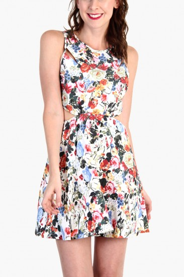 LoveMelrose.com From Harry & Molly | Floral Print Dress