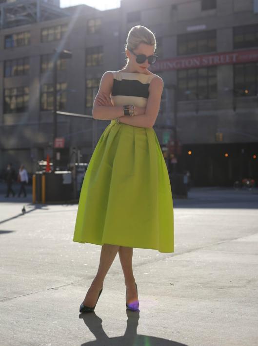 High quality puff skirt high waist half length full dress a princess dress sheds expansion skirt neon-inSkirts from Apparel & Accessories on Aliexpress.com