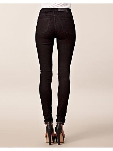 Second Skin Very Stretch Black - Cheap Monday - Zwart - Jeans - Kleding - Zij - Nelly.com