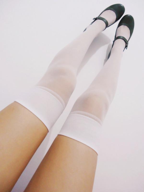 shoes socks flats black tights stockings underwear