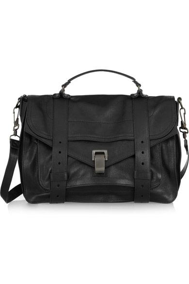 Proenza Schouler|PS1 medium leather satchel|NET-A-PORTER.COM