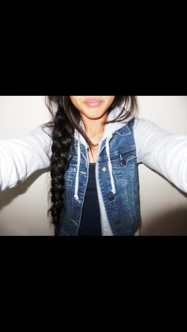 jacket jeans jacket sweater sweater sleeves denim jacket denim jacket sweater colorful blue white