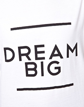 Brashy Couture   Brashy Couture Dream Big T-Shirt at ASOS