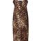Short leopard cami dress | moda operandi