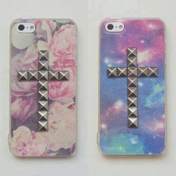 jewels wildflower iphone cover cross