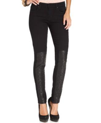 Joe's Jeans Skinny Jeans, Red-Wash - Women - Macy's