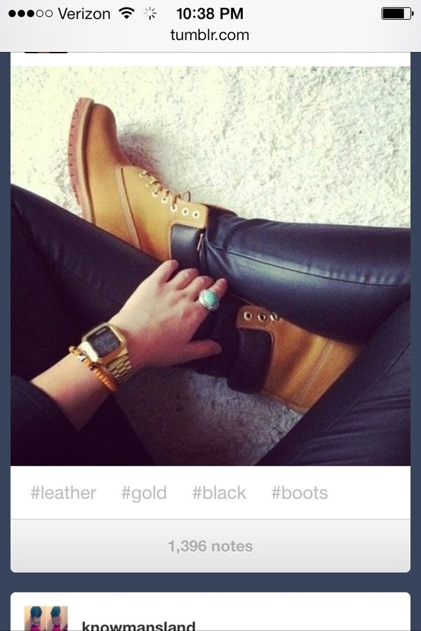 jeans black leather shoes