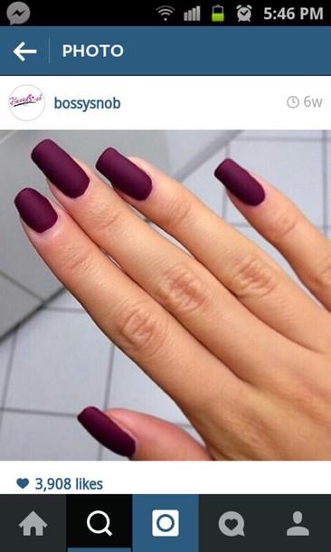 nail polish matte nail polish burgundy nail polish