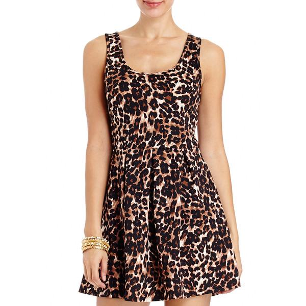 Leopard Babydoll Dress - 2b - Polyvore