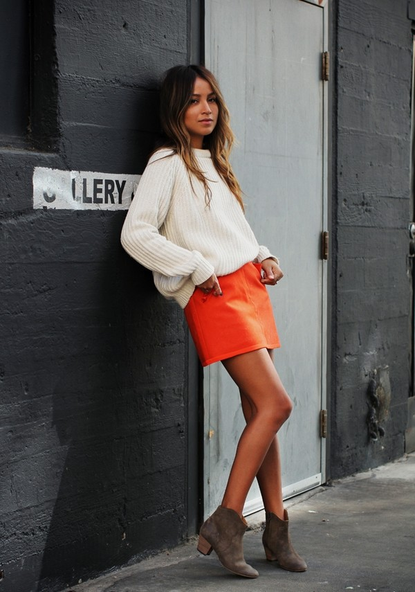sincerely jules skirt sweater jewels shoes