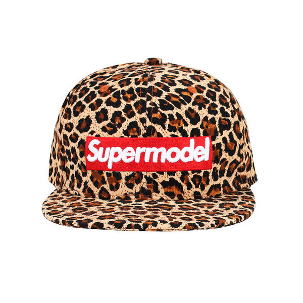 I'm A Supermodel Leopard Hat | Vanity Row