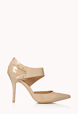 City-Chic Faux Leather Pumps   FOREVER21 - 2079081859