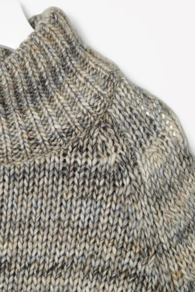 Oversized wool mix jumper