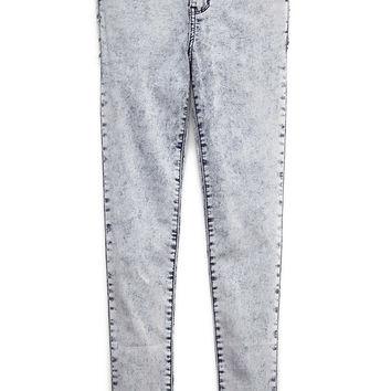 Acid Wash Skinny Jeans (Kids) on Wanelo