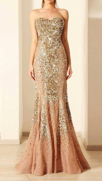 dress pretty gold sparkly sweetheart prom dress gold sequins long prom prom dress promgown evening dress champagne dress champagnepromdress crystalembellished crystalpromdress goldpromdress gold dress goldcrystals champagnegold prom dress glitter dress sparkle mermaid prom dress gold sequins formal dress gold dress gown sparkly dress