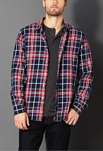 Zero Problems Plaid Shirt | FOREVER 21 - 2000073066