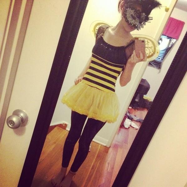 dress bumblebee halloween costume