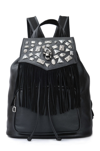 Rhinestone Tassel Backpack [OA15128] - $90.00 : CHOSTH.COM