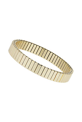 Gold Look Cap Stretch Bracelet - Bracelets - Jewellery  - Bags & Accessories - Topshop