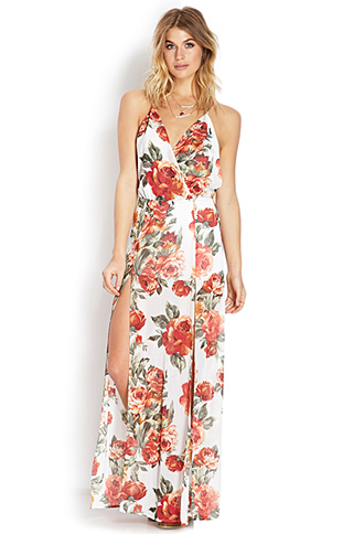 Enchanted Floral Maxi Dress | FOREVER21 - 2000126791