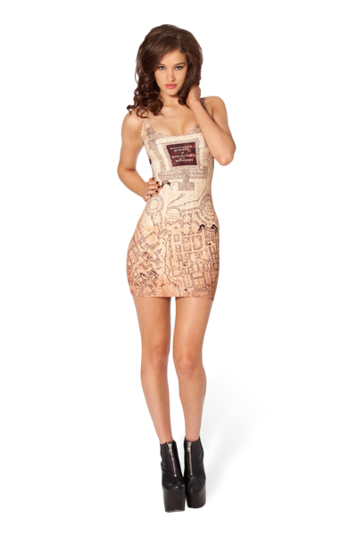 Marauders Map Inside Dress › Black Milk Clothing