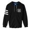 Adidas originals 3foil full zip hoodie - men's at champs sports