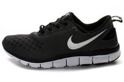 Mens Nike Free 5.0 v6 Black White