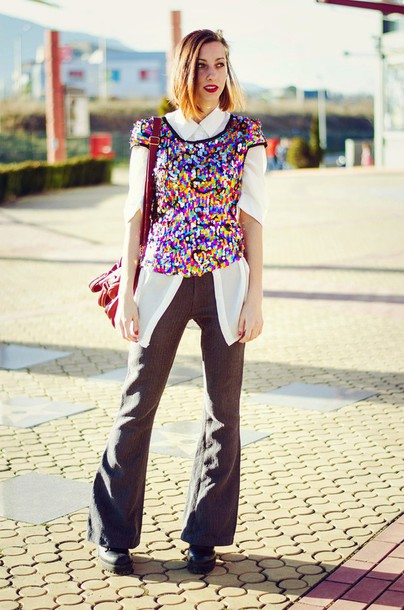 beauty insanity blogger t-shirt colorful white shirt