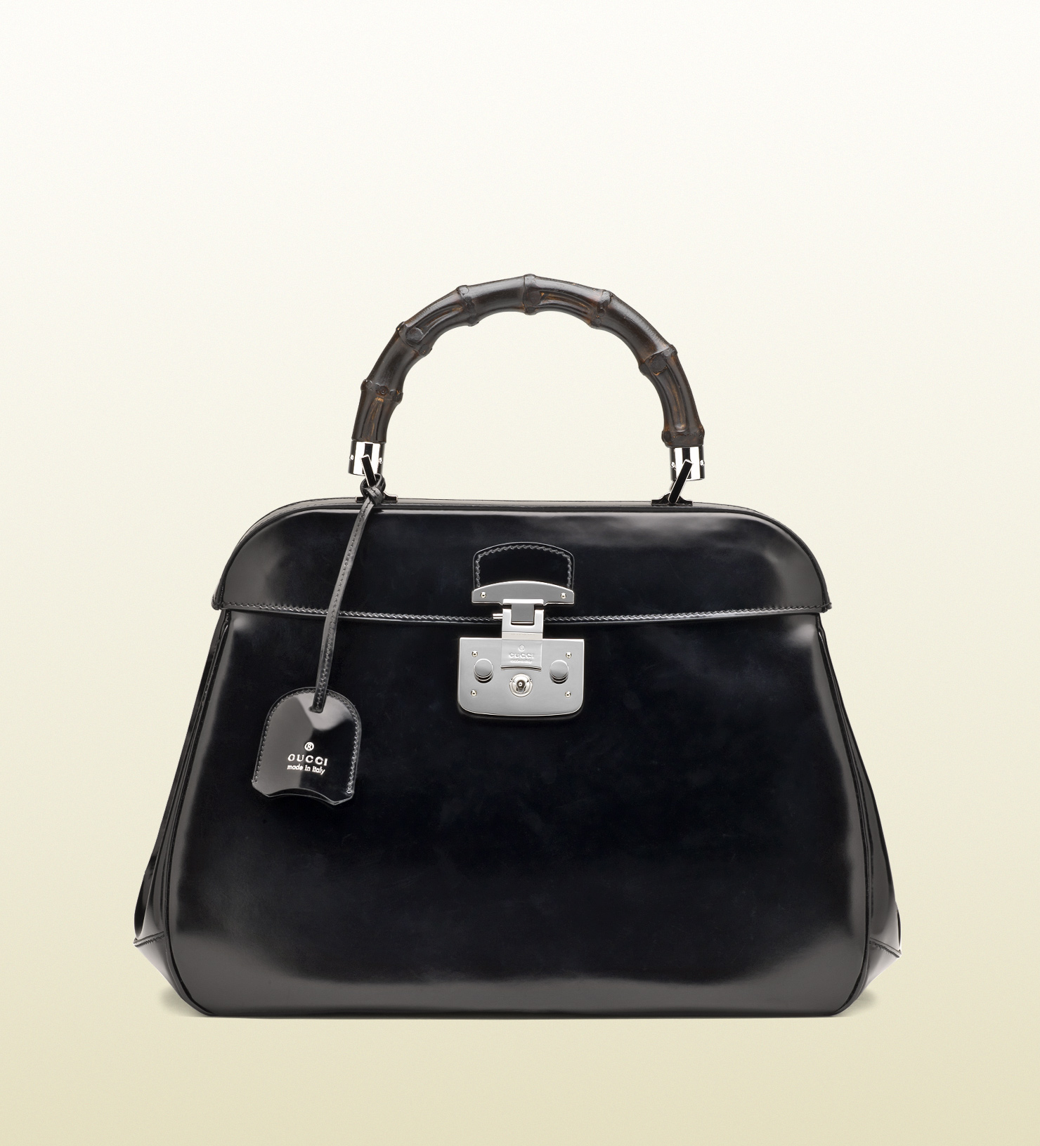 Gucci - lady lock leather top handle bag 331829CLG0F1000