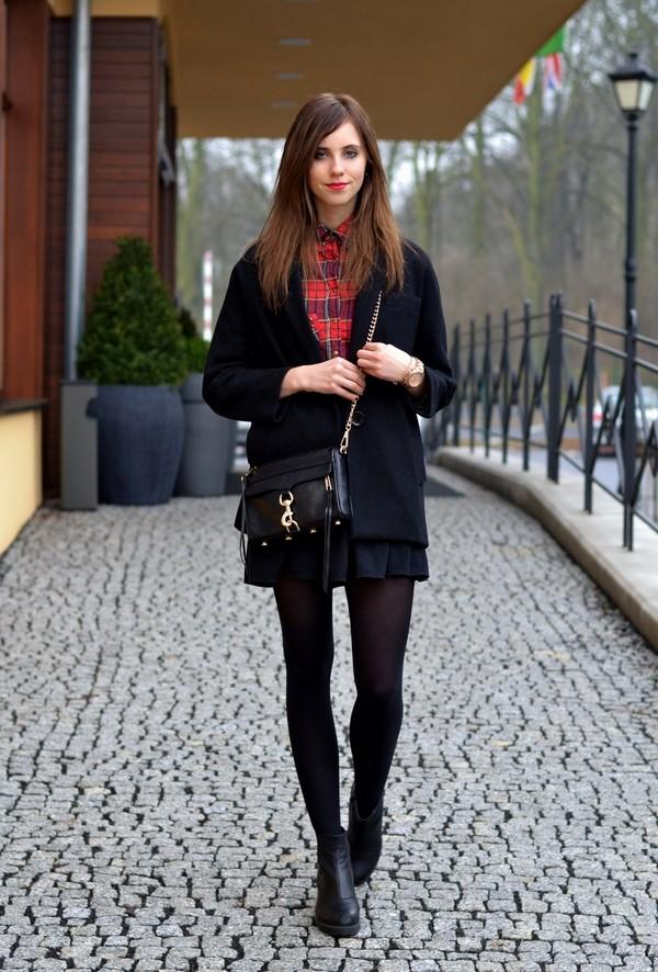 vogue haus blouse skirt coat shoes bag jewels